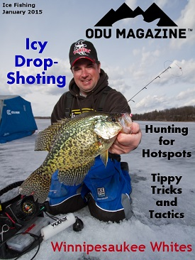 OutDoors Unlimited Magazine's January Ice Fishing Edition – 2015