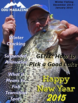OutDoors Unlimited - Winter 2014 to 2015 Fishing Edition