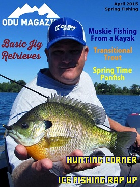 OutDoors Unlimited Magazine's April Spring Fishing Edition – 2015