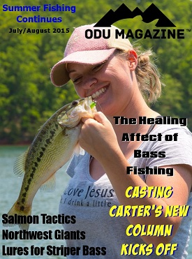 More Summer Fishing With ODU Magazine - 2015