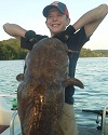 Possible 100 Pound Tennessee Flathead Catfish Reeled In 3