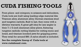 Cuda fishing tools