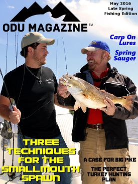ODU March Fishing Edition 2016
