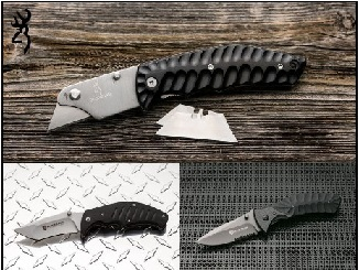 Special limited availability knives from Browning at Lowes