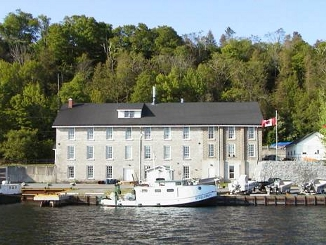 Glenora Fisheries Station on Lake Ontario