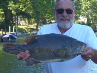 Weighs 9.98 Pound Michigan Smallmouth Record
