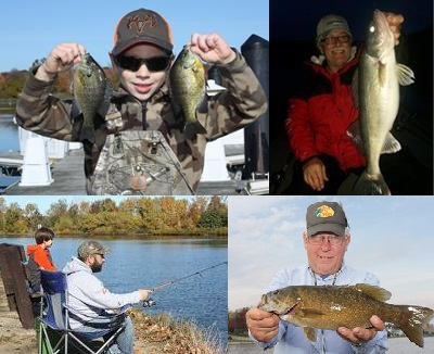 November 10 issue of nw pa fishing report odu magazine for Pa fish records