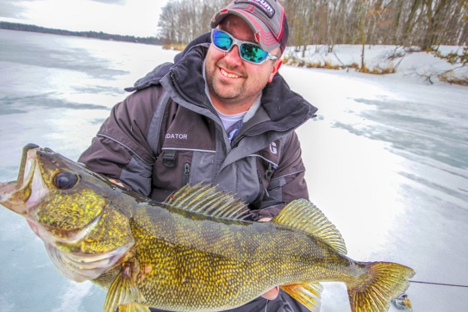 Why your next ice suit should float odu magazine north for Floating ice fishing suit