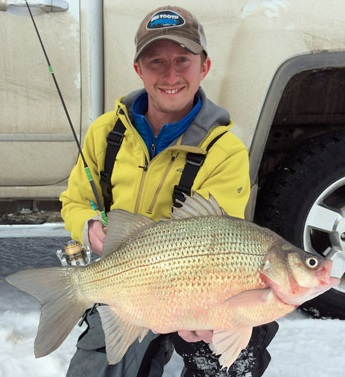 Devils lake white bass world record awaiting confirmation for Devils lake fishing report 2017
