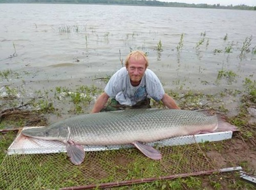 Biggest fish ever caught in Oklahoma 1