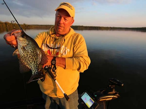 Drop-Shot Rigging For Crappies