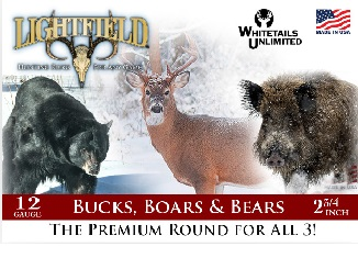 New Buck, Boars & Bears Premium 12-GA Rounds
