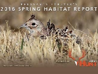 Pheasant Nesting Report
