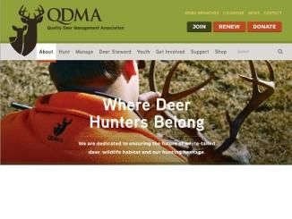 QDMA's New Website Is Designed to Serve Hunters