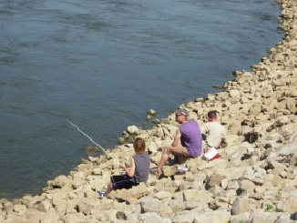 FALL FISHING ACTION MOVES TO THE SHORE