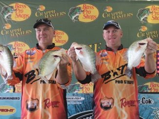 Morgan and Watson win Crappie Masters Classic for second time