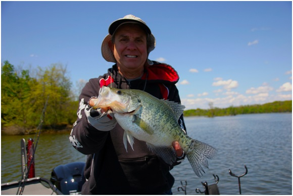 hooked on crappie
