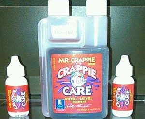 Mr. Crappie Crappie Care Products are available