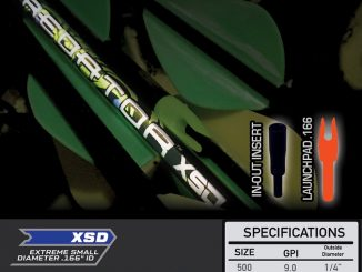 Become the Dominant Predator with the new PredatorTM XSD arrow from Carbon Express