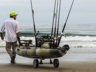 Introducing the Hobie Fold n Stow Kayak Cart