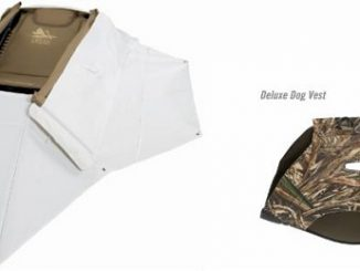 Deluxe Dog Vest and Zero-Gravity Snow Cover to Delta Waterfowl Gear Hunting Line