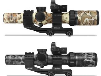 BURRIS NOW OFFERING MTAC 1-4X RIFLESCOPE IN PRYM1 CAMO