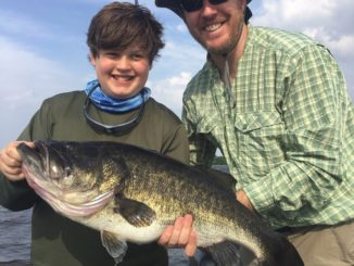 16.75-pound bass takes lead for TrophyCatch Season 5