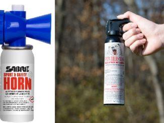 Frontiersman Bear Spray, Practice Bear Spray and Bear Horn Reduces Risk of Bear Encounters