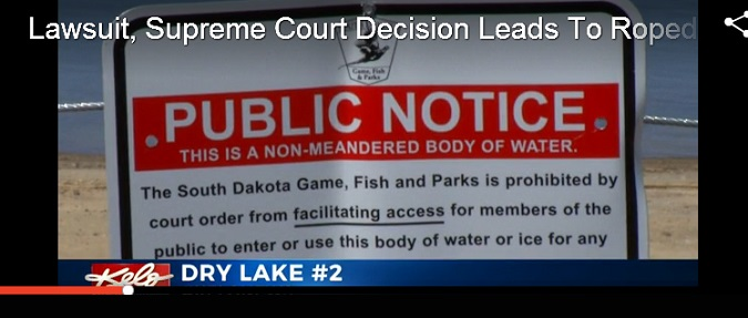 Lawsuit, Supreme Court Decision Leads To Boat Access Stoppage In South Dakota