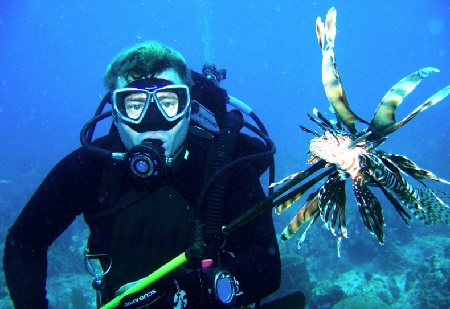 Attention all lionfish hunters