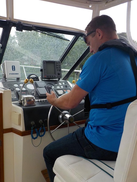 "The Five Seconds That Can Get a Boater Into Trouble - ""Reading a text"""