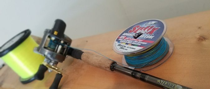 Reverse Spooling for Leadcore