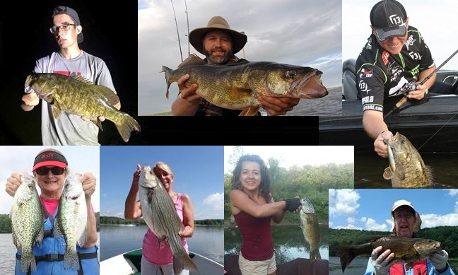 June july issue of nw pa fishing report for Pa fish records