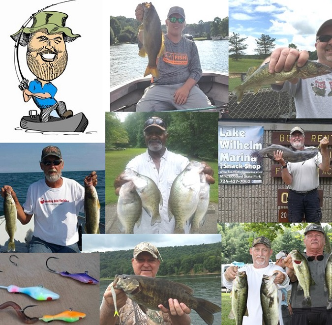 Nw pa fishing report for late july 2017 for Pa fish records