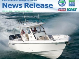 Sportfishing Industry Provides Perspective on Federal Saltwater Fisheries Management