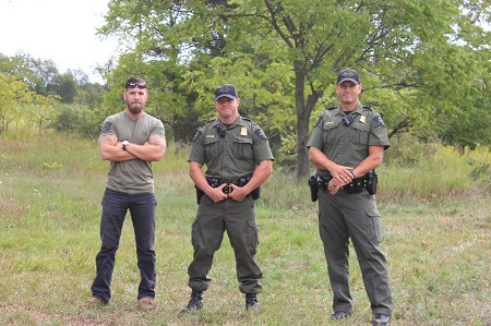 USA and UAW-Ford Michigan Ramp Team Unveil Accessible Hunting Blinds