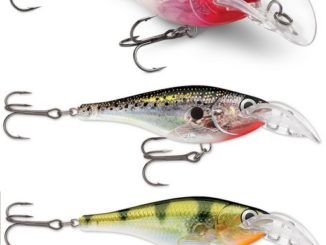 SCATTER RAP GLASS SHAD GIVES A CLEAR ADVANTAGE