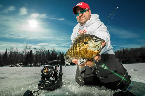 Which marcum lx 7 or the new m5 for Marcum ice fishing
