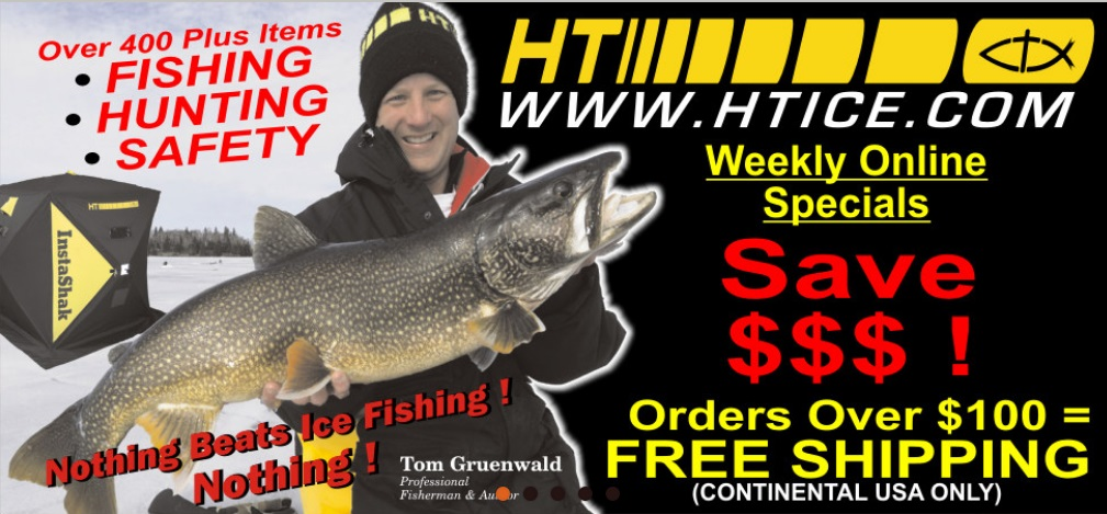 Ht Ice Fishing Equipment For 2018