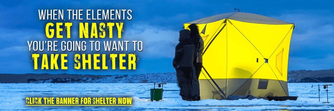 Looking For A Ice Shelter For A Family - Look At HT