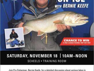 Ice Fishing Seminar, By Bernie Keefe
