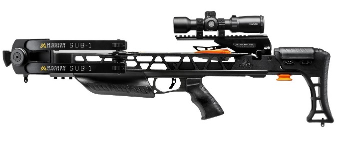 Mission Crossbows Introduces All-New SUB-1 2