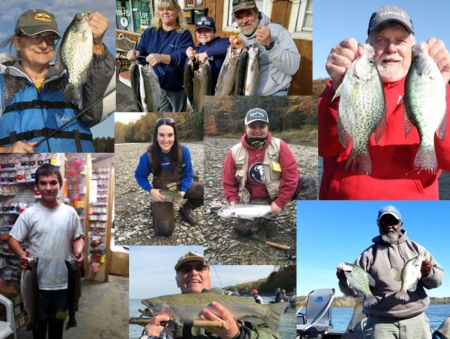 Nw pa fishing report for november 2017 for Nw fishing report