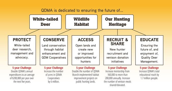 QDMA Announces New Five-Year Goals
