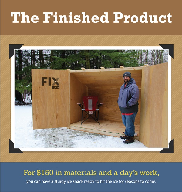 Build A Diy Ice Fishing Shelter On A Budget W Pictorials