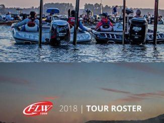FLW ANNOUNCES 2018 FLW TOUR PRO ROSTER