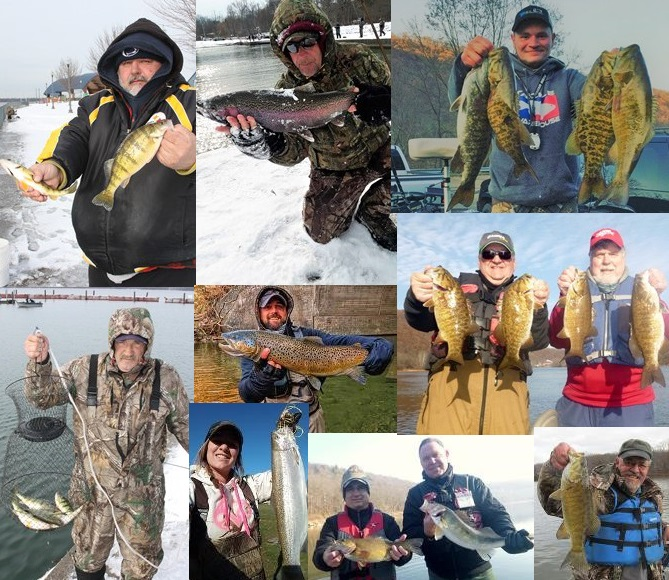 Nw pa fishing report for december 2017 for Pa fishing season 2017