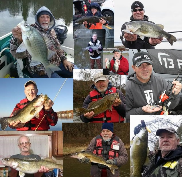 Nw pa fishing report for late november 2017 for Pa fish records