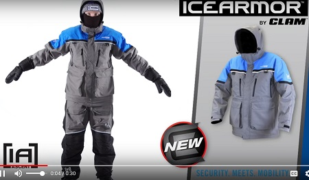 Best float suit on ice the ascent float parka and bibs by for Floating ice fishing suit