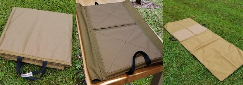 Creedmoor Bench and Field Shooting Mat, Customized for Your Shooting Style